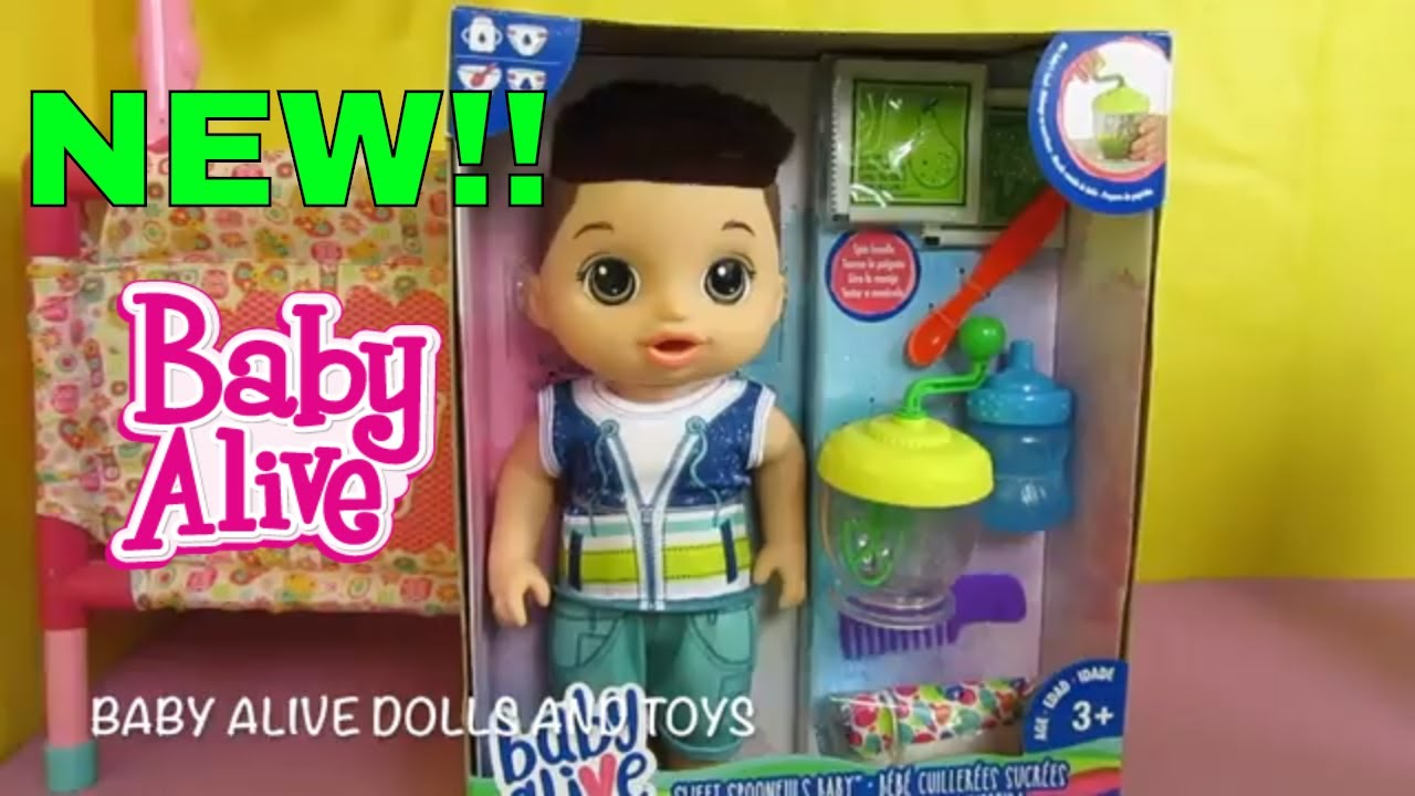 New Baby Alive Sweet Spoonfulls Doll Unboxing From Toys