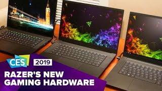 Razer reveals Blade 15 Advanced, Raptor gaming monitor at CES 2019