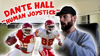 "Rugby Player Reacts to DANTE HALL ""The Human Joystick"" NFL Highlights YouTube Video"