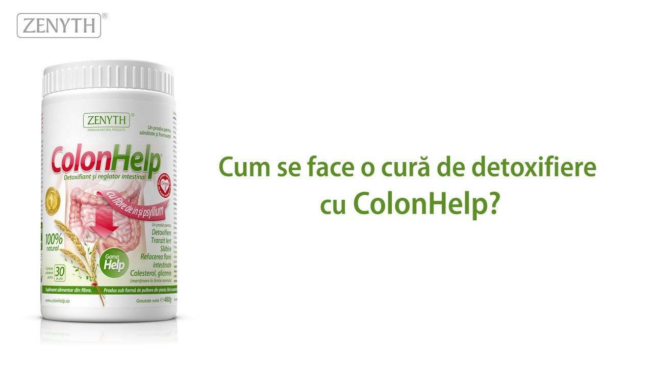 pulbere de detoxifiant de colon