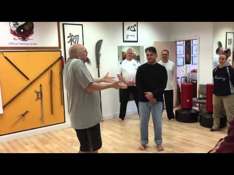 Fire & Water Energies in Push Hands  Stephen Watson