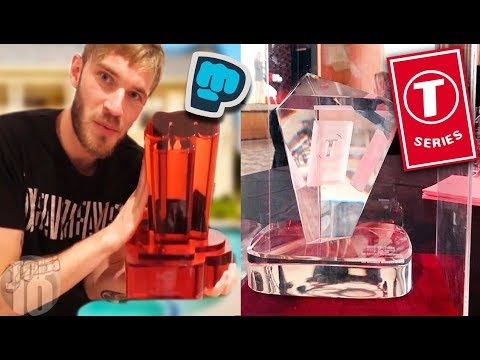 8 YouTubers Who Got CUSTOM Play Buttons