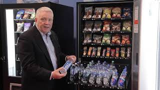 Offer beverages and food in a single vending machine