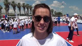 01-06-2019: Valeria Caracuta alla tappa di Gioca Volley S3 in Sicurezza a Lecce