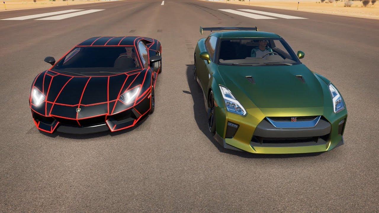 Tanner Fox Car Wallpaper Ksi Lamborghini Aventador Vs Tanner Fox Nissan Gtr Drag