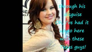 Debby Ryan/ Jessie - Texas guys lyrics
