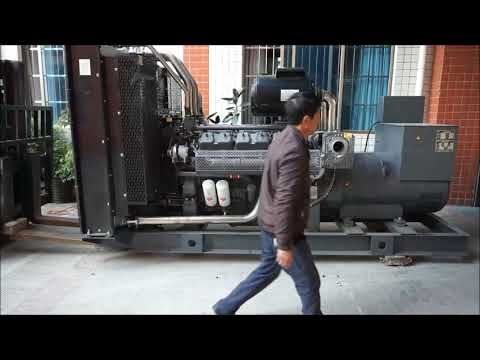 (4) 550KW Diesel Electric Generator with China Wuxi Engine And Shanghai KEPU Alternator