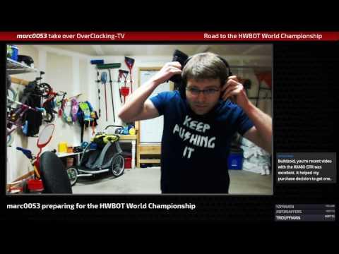 Marc_0053 Preparing for the HWBOT World Championship