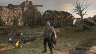 Dark Souls 2 - Faraam Set Location (box art/trailer armor)