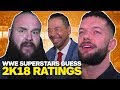 WWE Superstars Guess Their WWE 2K18 Ratings