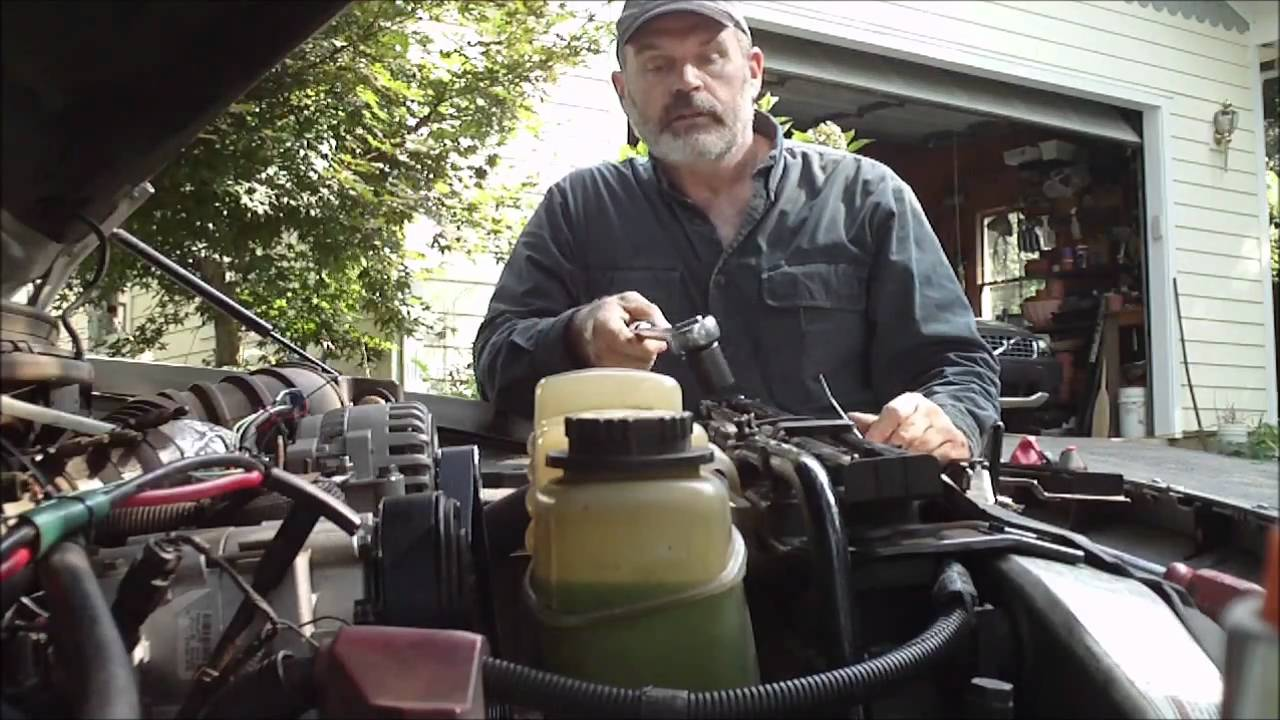 7 3 powerstroke single phase motor wiring diagram with capacitor dual alternator install 7.3l part of 4 - youtube