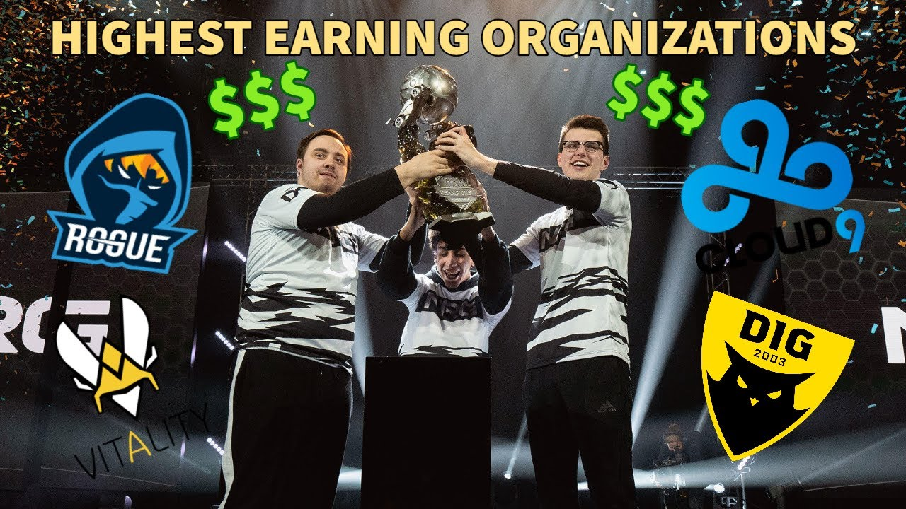 Top 10 Highest Earning Organizations in Rocket League