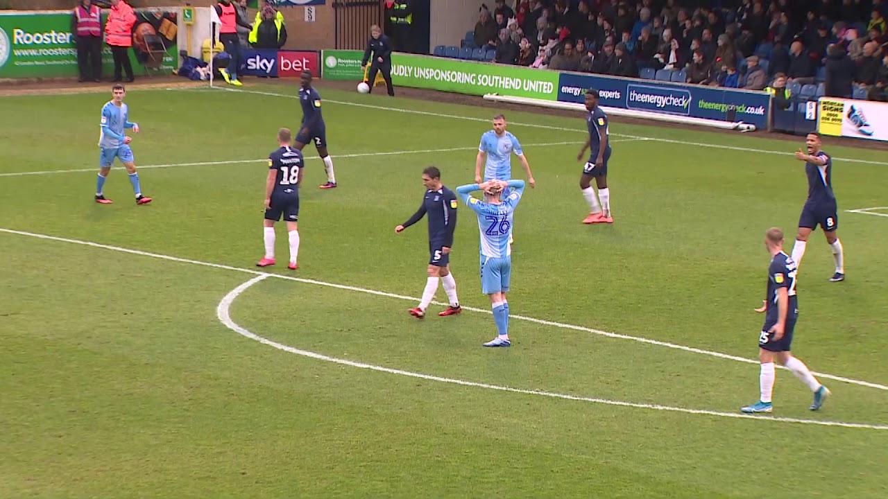 Саутенд Юнайтед  0-2  Ковентри Сити видео