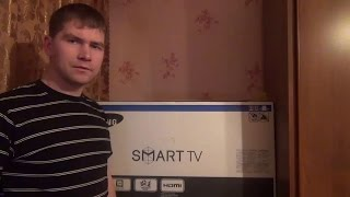 Samsung UE32H6230 Распаковка и обзор Smart TV