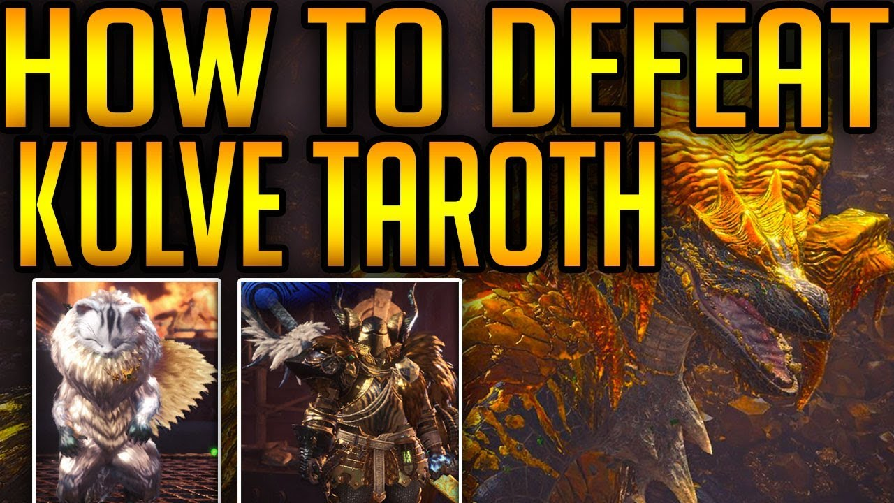 Monster Hunter World Guide: How To Find And Defeat Kulve Taroth