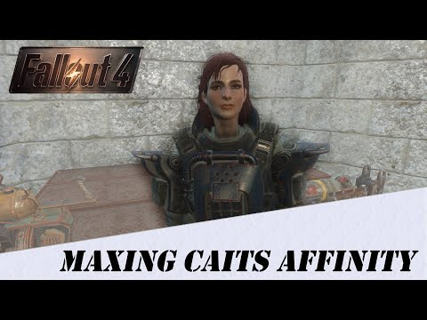 Fallout 4 Tips - Easiest way to reach Max affinity with Cait (Without Console Commands)