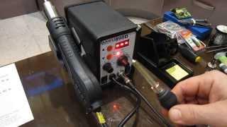 Паяльная станция BAKU 898D, миниобзор(, 2014-01-05T21:42:09.000Z)