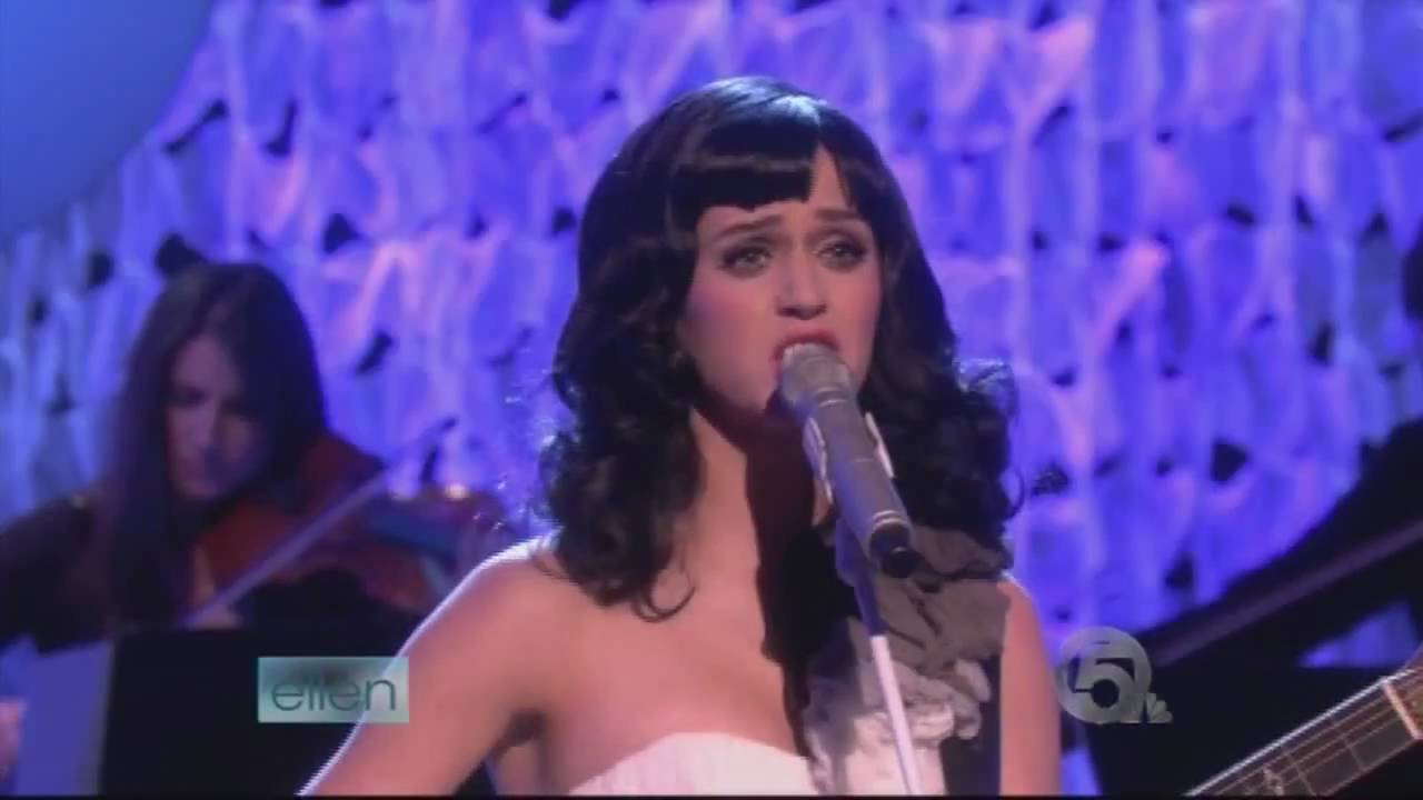Katy perry thinking of you live at ellen show 19 03 2009 youtube - Ellen show live ...