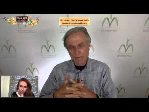 Dr. John McDougall MD on starch solution, intermittent fasting, Cowspiracy, Mediterranean diet