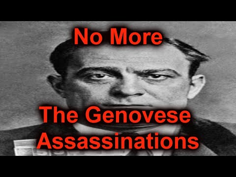 No More I A Collection of Assassinations on the Genovese Crime Family