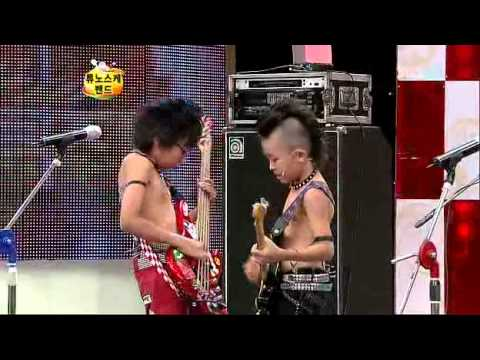 Japanese kids band on Korean TV Part 1(Eng Sub)
