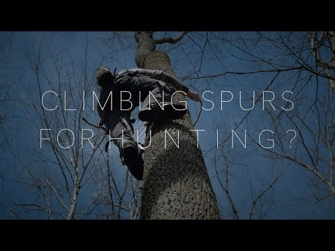 Climbing Spikes For Hunting?