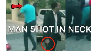 SECURITY GUARD SHOT BY BUSINESS MAN WITH MR. VEGAS