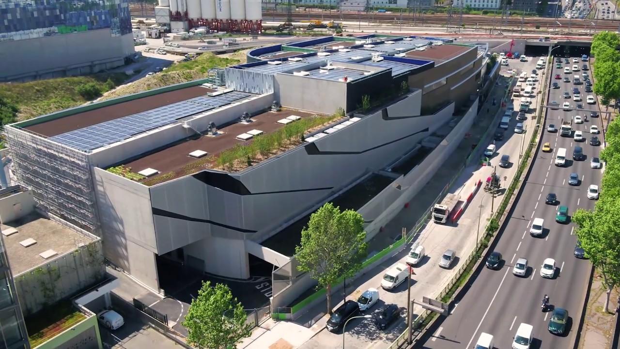Paris Materiaux Villeneuve La Garenne centre de tri à paris xvii - syctom