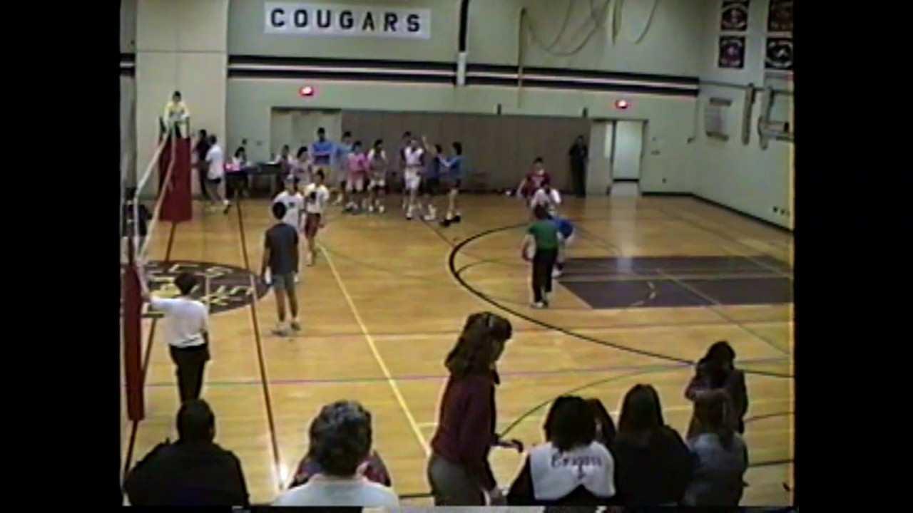 NCCS Volleyball Team vs. Sr. Boys  3-15-88