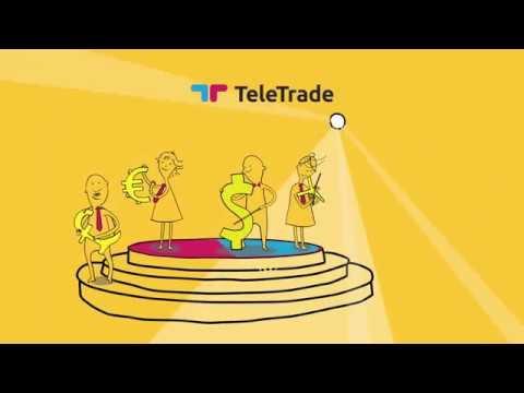 ТелеТрейд: работайте в терминале MetaTrader для торговли на Форекс