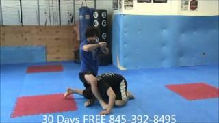 "UFC Fighter Charlie ""The Spaniard"" Brenneman at Precision MMA in LaGrange, NY"
