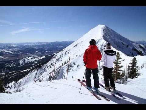 Skiing Bridger Bowl Bozeman Montana