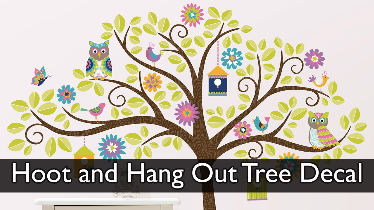 Hoot and Hangout Wall Kit - YouTube