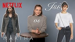 Wem ist Lisa Vicari ähnlicher? Martha vs. Isi | Isi & Ossi | Netflix