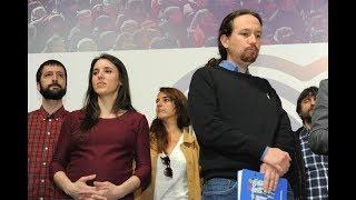 Pablo Iglesias desesperado: El gran perdedor de las elecciones ha sido Podemos