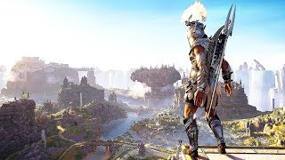 Assassin's Creed Odyssey True Spear of Ares Rampage & Isu Combat in Beautiful Fields of Elysium