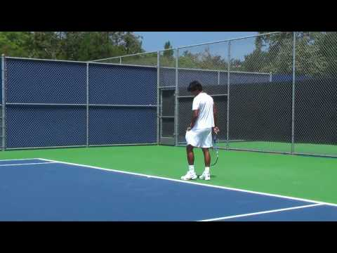 07 23 2010 Somdev Devvarman practicing