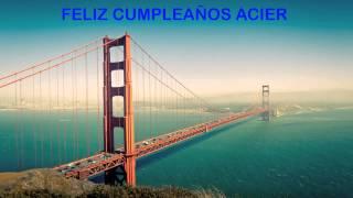 Acier   Landmarks & Lugares Famosos - Happy Birthday