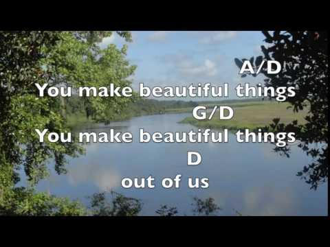 Beautiful Things [Key: D]- Lyrics & Chords