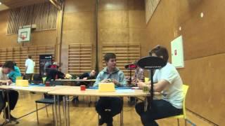 Morten Arborg: Jonathan Hamstad NM 2015 3x3 OH a