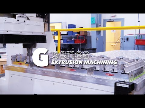 Architectural Extrusion CNC Machining - Featuring the C.R. Onsrud, 3-Axis G-Series CNC Router