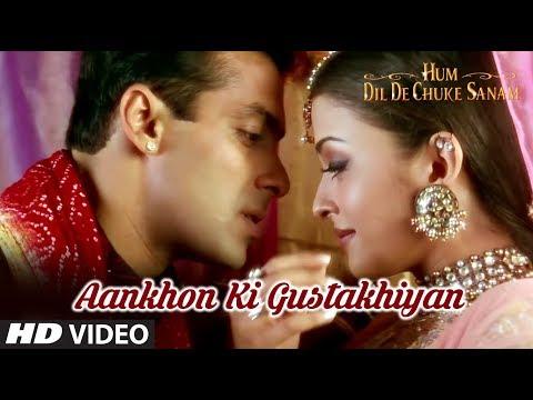 Aankhon Ki Gustakhiyan Full Song | Hum Dil De Chuke Sanam | Aishwarya, Salman Khan