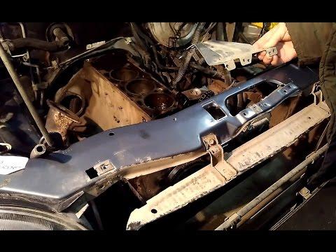 Снять радиатор Chevrolet Niva не разбирая переднюю часть