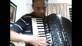 Accordion by G.S.Nawathey Tera Mera Pyar Amar  on.... Film Asli Naqli