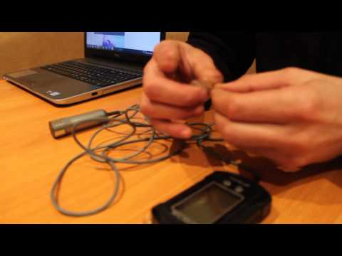 ремонт датчика эхолота видео