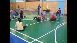 Волейбол сидя тренировка сборной Украины