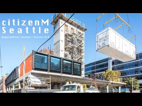 Citizen M Hotel Seattle - Construction