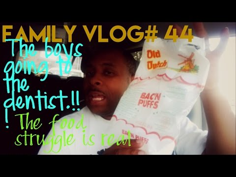 My Familyvlog#44 My Food Struggle Is Real & The Boys Dentist Vist