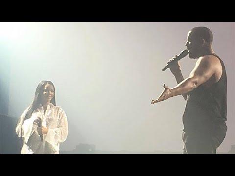 Drake Stops LA Show to Gush About Rihanna