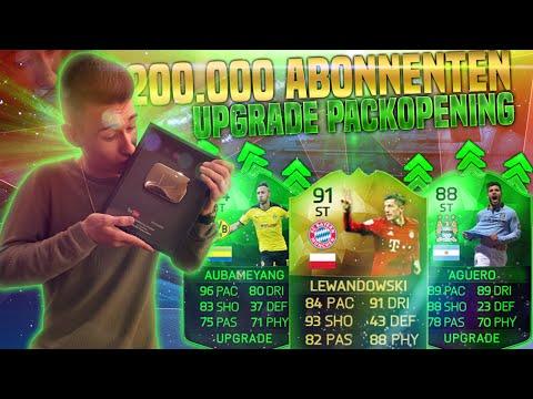 FIFA 16 WINTER UPGRADES PACK OPENING & 200.000 ABONNENTEN!